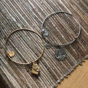 2 Alex and Ani Bracelets